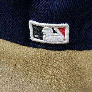 New Era Accessories - New Era 59Fifty Hat Atlanta Braves Alternate Navy